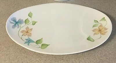 Ben Seibel For Iroquois  Sleepy Hollow Pattern Oval Platter
