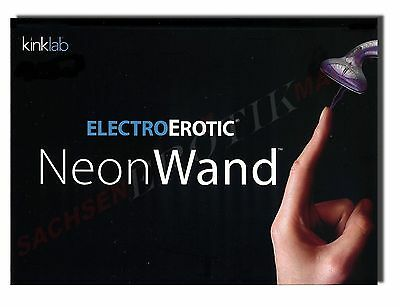Kinklab Neon Wall Current Stimulation Device electric massage