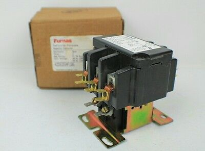 Furnas 3 pole 50 amp 42DE35AF106 Definite Purpose Magnetic Contactor