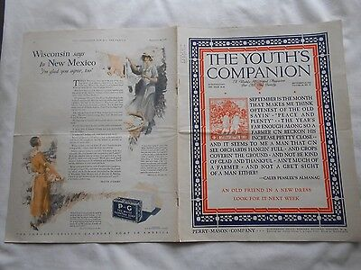The Youth's Companion-September 10,1925-King Charles's Head