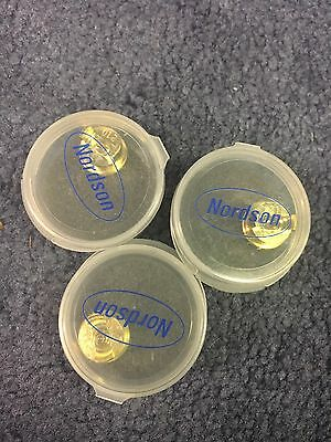 Nordson 231210G Hot Melt Gun Button Nozzle ** Lot Of 3 ** Unused **