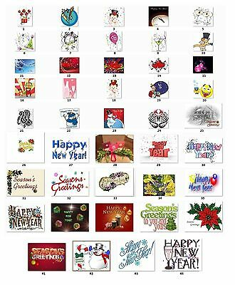 Personalized Return Address Labels New Year Buy 3 get 1 free (ct70)