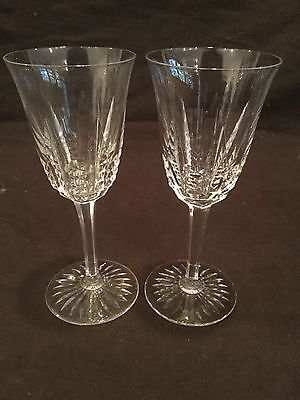 Set Of 2 Wine Glasses Baccarat In An Unknown Pattern
