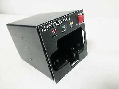Kenwood KVC-5 Portable Vehicle Two Way Radio Battery Charger
