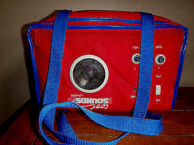 """Pepsi AM FM Cooler Radio Collectible By Sun Hill # A655 Subpart """"C"""" as date."""