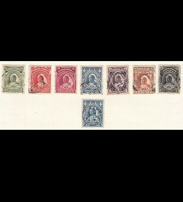 Niger Coast Protectorate Stamps 1897 | QV | SG 66-72 | Cat £134.50
