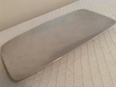 "Antique NAMBE Large Silver Tray - No. 511 Stamped - 18.25"" x 9.25"" Size Heavy"
