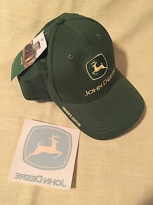 John Deere Owner's Edition Baseball Cap Hat New w/ Tag Adjustable Decal