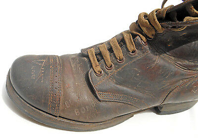 Unique Wwii Us Home Front Item, Us Army Serviceman's Shoe Used To Sell War Bonds