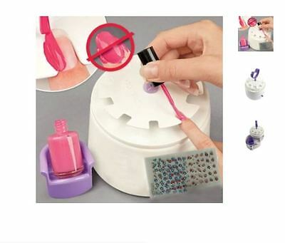 Manicure Station (Plus 200+ FREE Nail Decals) Manicure Kit/Nail Perfect Printer