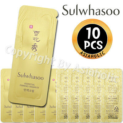Sulwhasoo Essential Firming Cream EX 1ml x 10pcs (10ml) Sample AMORE PACIFIC