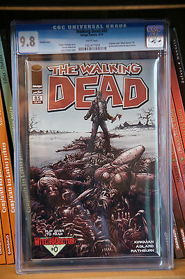 WALKING DEAD #85 Variant CGC 9.8  by Kirkman & Adlard Variant cover