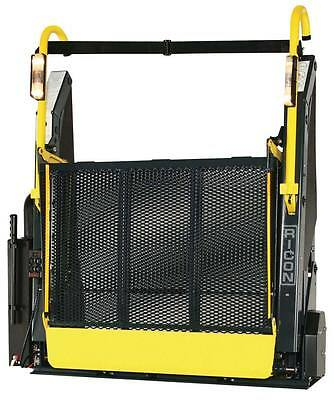 ricon wheelchair tail lift taillift tailift disabled mobility van loading