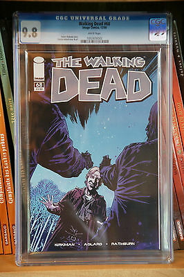 WALKING DEAD #68 CGC 9.8 by Kirkman & Adlard