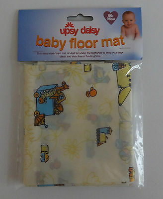 No Mess Floor Mat Under Baby High Chair Wipe Clean Kids Food Mat Travel Home