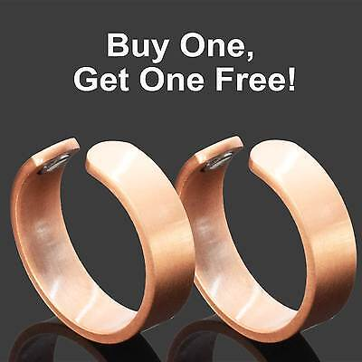 Copper Magnetic Rings Strong Magnetic Therapy 4 Arthritis - BUY 1 GET 1 FREE -RC