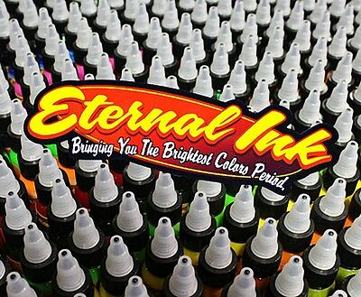 Eternal Ink 25x je 30 ml Tattoofarben SET Tattoo Farbe Tätowierfarbe Tattoo Neu