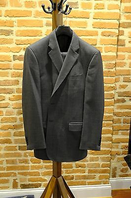 Grey Chester by Chester Barrie Savile Row Suit 42 L Long
