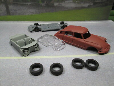 1968 CITROEN  PRIMERED  S SCALE DIE-CAST FOR LAYOUT or DIORAMA