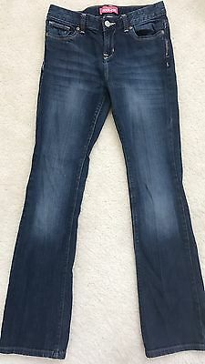 Old Navy Boot Cut Teen Girls Jeans size 14 - slim adjustable waist W 28""