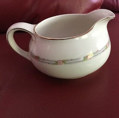 derwood-6 WS GEORGE ROSE PATTERN CREAMER