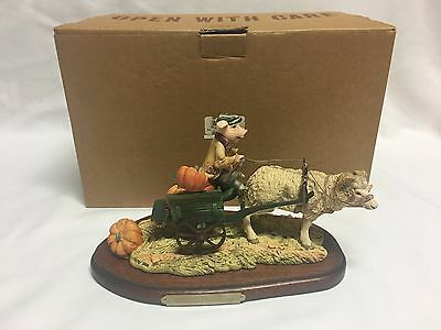 Lowell Davis Punkin Pig Figurine Limited Edition w/ Box