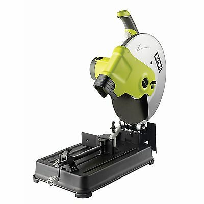 2200W RYOBI 355mm Abrasive Metal Steel Cut Off Drop Chop Saw - 4yr Replace Wty