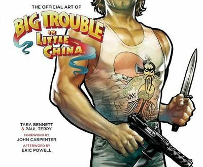 The Art of Big Trouble in Little China by Laura Bennett Hardcover Book (English)