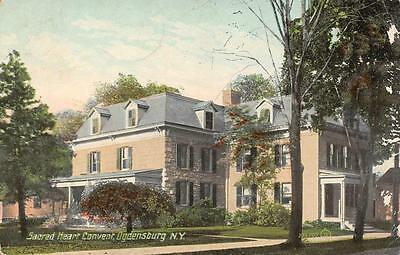 OGDENSBURG, NY  New York   SACRED HEART CONVENT  St Lawrence Co  1910? Postcard