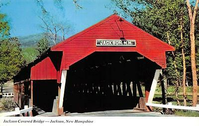 JACKSON, NH  New Hampshire  COVERED BRIDGE-White Mountains CARROLL CO   Postcard