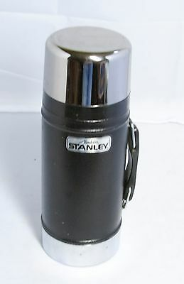 Vintage Black Aladdin Stanley 24 oz. Wide Mouth Thermos A-1350B Made in USA