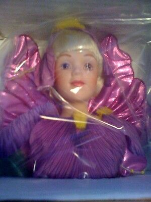 Flower Fairy Doll inspired by Cicely Mary Barker-Brand New!