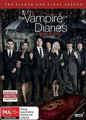 The Vampire Diaries Season 8 BRAND NEW SEALED R4 DVD IN STOCK NOW