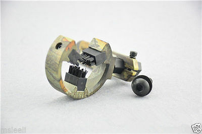 Camo Hunting Arrow Rest Brush Both Left Or Right Hand Archery Fit Compound Bow