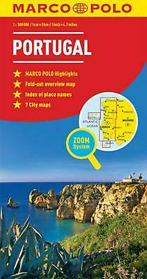Portugal Marco Polo Map by Marco Polo (English)