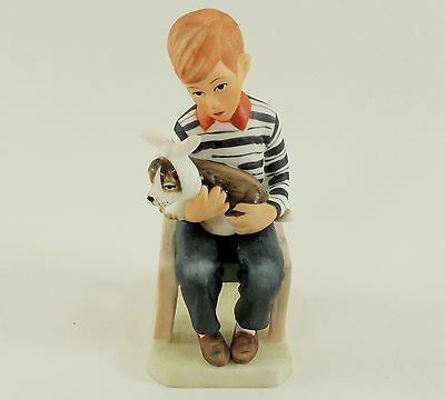 """Norman Rockwell """"At The Vets"""" FIGURINE 1981"""
