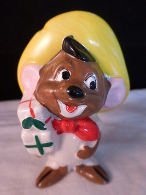 """VINTAGE COLLECTIBLE HOLIDAY LOONEY TUNES ORNAMENT """" SPEEDY GONZALES"""" 1978 Japan"""