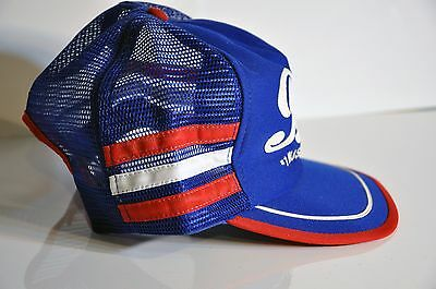 Vintage Pepsi-Cola snap back trucker hat made in USA