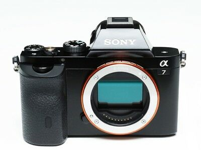 Brand new SONY A7 ILCE-7 24.3 MP Mirrorless Digital Camera (Body only) + SD Card