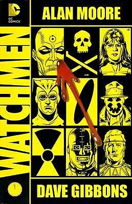 Watchmen: The Deluxe Edition by Alan Moore Hardcover Book (English)