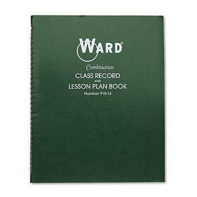 Hubbard Combination Record & Plan Book, 9-10 Weeks, 6 Periods/Day, 11 x 8- 91016