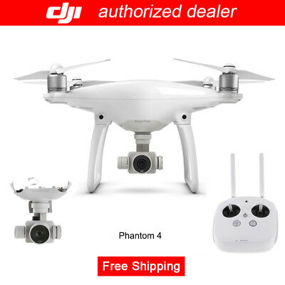 Genuine DJI Phantom 4 RC 4K Camera Drone with ActiveTrack + Aerial Photography
