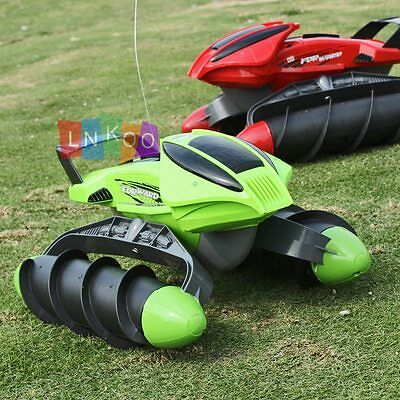 Electric Amphibious RC Car Land Water Remote Control Off Road Car Truck Toy Gift