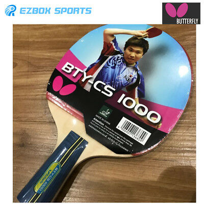 █EZBOX SPORTS█ Butterfly BTY-CS 1000 Penhold Pan Hold Table Tennis Racquet  Bat