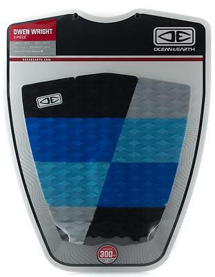Ocean & Earth Owen Wright 3pcs Surfboard Tail Pad Traction Deck Grip Surfing Pad