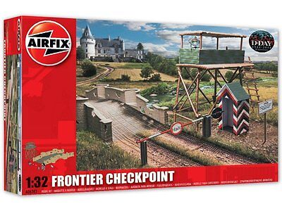 Airfix Frontier Checkpoint Model Kit 1:32 Scale