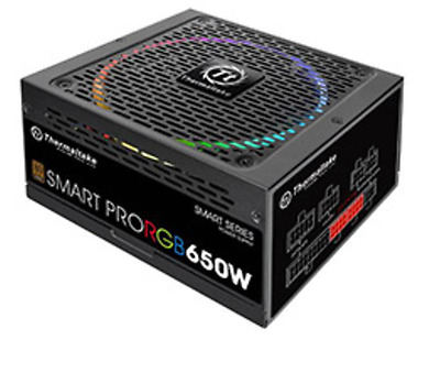 NEW Thermaltake Smart Pro RGB 650W Bronze Fully Modular Power Supply