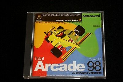 Vintage 1997 Total Arcade 98 32-Bit Game Collection  Win95