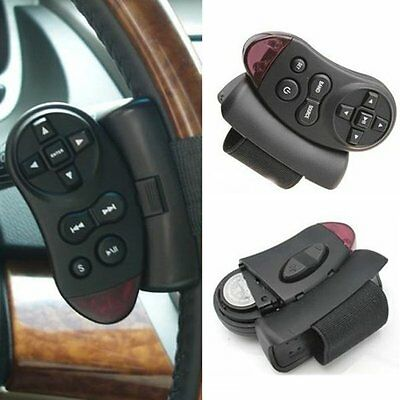 Universal Car Steering Wheel IR Remote Control for GPS CD VCD DVD TV MP3 Player