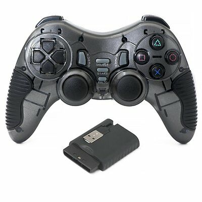 2.4GHz Wireless Game Controller Gamepad for PC Windows PS2 PS3